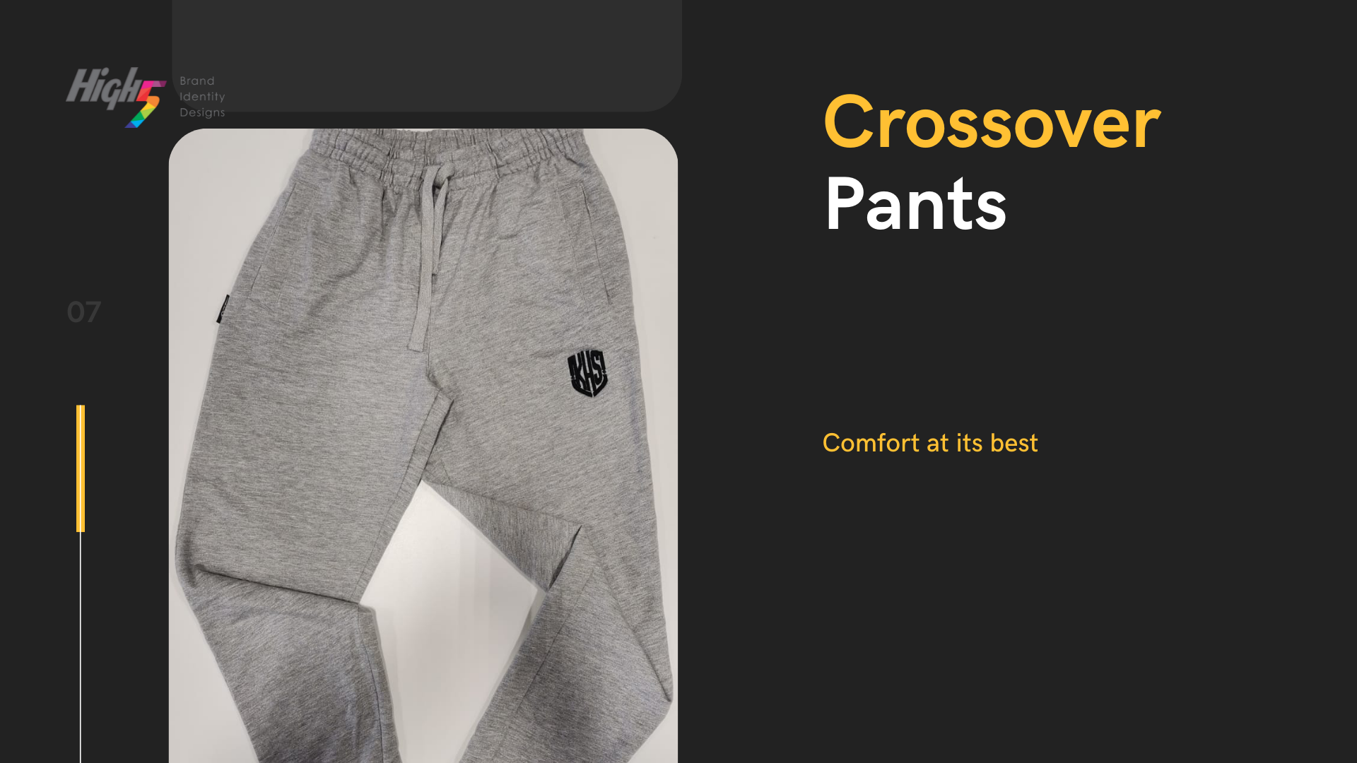 CROSSOVER PANTS