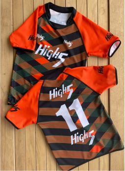 HIGH5 SUBLIMATED RUGBY